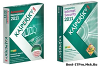 Kaspersky Anti Virus 2011 и Kaspersky Internet Security 2011